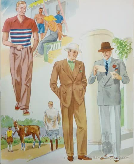Summer Fashions Apparel Arts 1930s