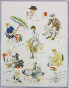 Sommer Moden auf der ganzen Welt 30er Jahre
