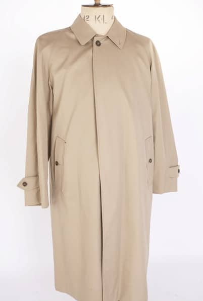 Trenchcoat Ghillie Collar Fly Front