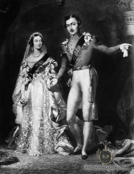 Victoria And Prince Albert Wedding 1840