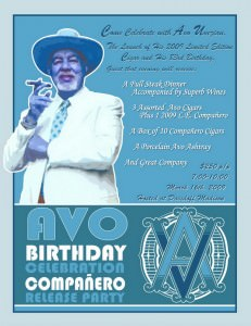 Avo Uvezian Limited Birthday Edition