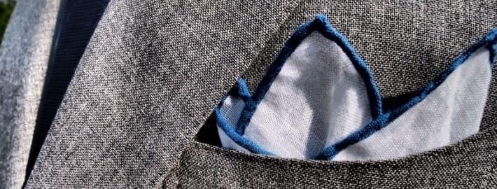 Barchetta and Linen Pocket Square