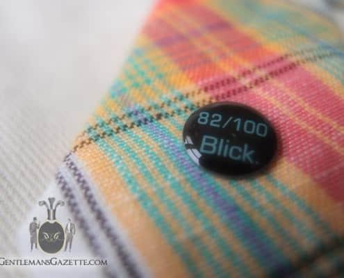 Blick Linen Madras Tie