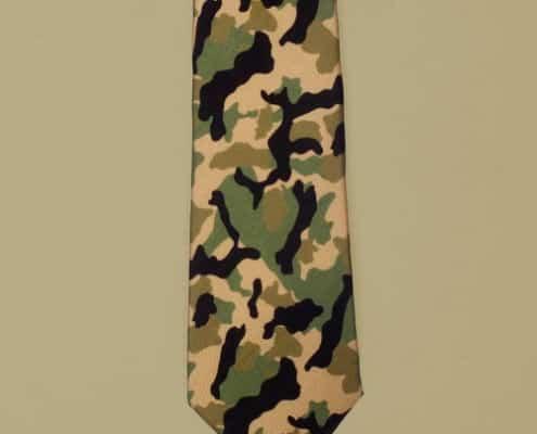 Camouflage Blick Tie