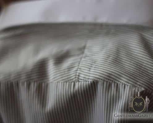 David Reeves Shirt Split Yoke