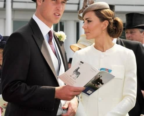 Duke Duchess Cambridge Buttoniere
