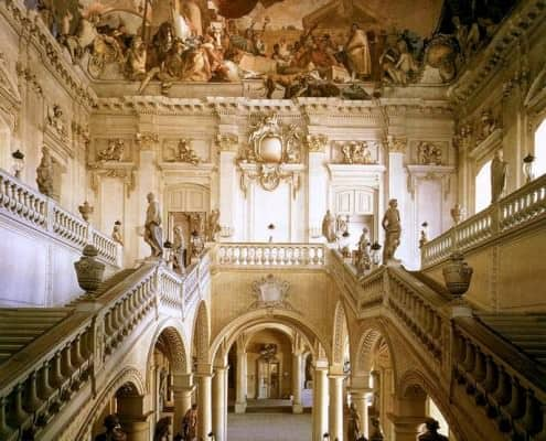 Würzburg Residence Bavaria Largest Ceiling Fresco In The World