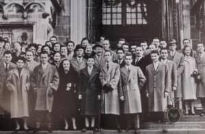 A. Caraceni Team Photo Milan 1948