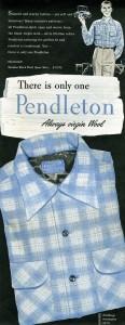 Pendleton 1954 Ad