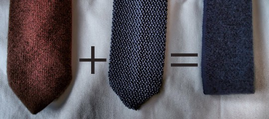 The Cashmere Knit Tie Gentlemans Gazette