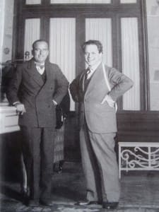 Domenico Caraceni And Douglas Fairbanks