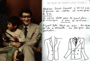 Ferdinando Caraceni for Yves Saint Laurent