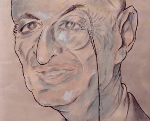 Galliano Caraceni Pencil Sketch