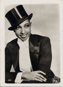 Josephine Baker in Top Hat & Caraceni Tailcoat