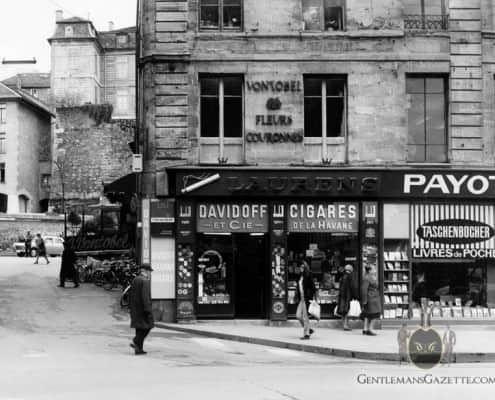 Davidoff Cigar Shop Geneva 1950