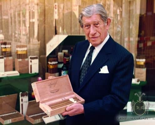 Zino Davidoff with Cigars