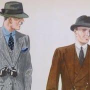 Fall Suits 1930's Apparel Arts
