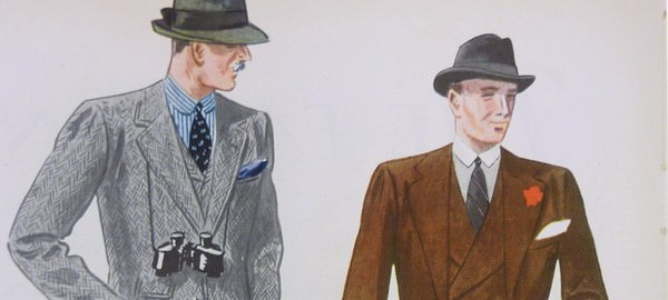 Fall Suits 1930's Apparel Arts