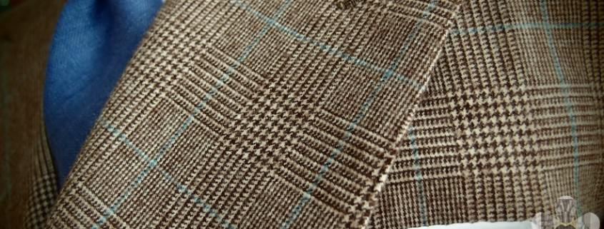 Prince of Wales Check with Blue Overplaid