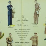 Fall Suits 1934