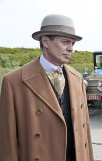 Nucky Thompson Ulster Overcoat In Camel
