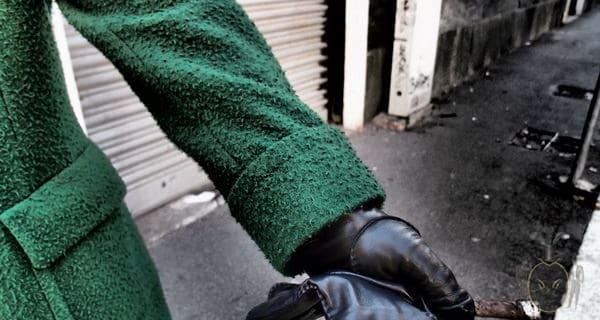 Green Overcoat Casentino Style
