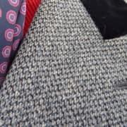 Paletot with Black Velvet Collar