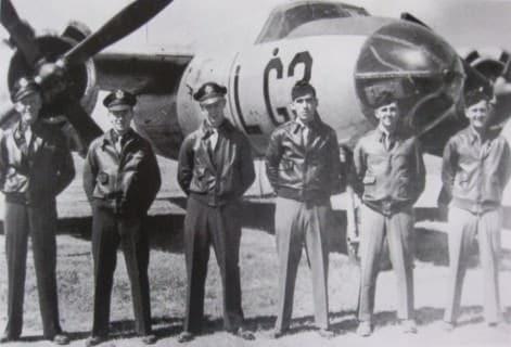 Pilots in Type A-2 jacket