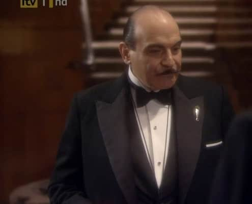 Poirot in Dinner Jacket