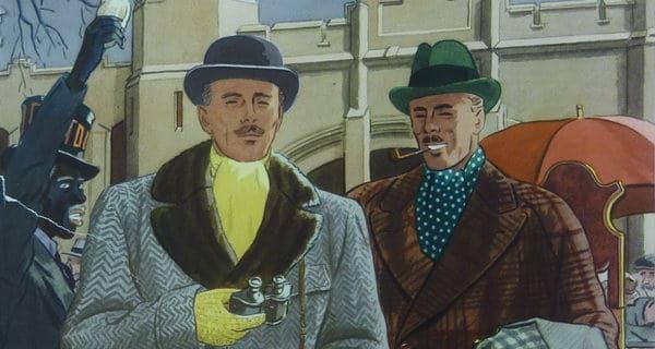 Winter Fabrics 1930's