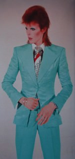 Davie Bowie in Turquoise Suit