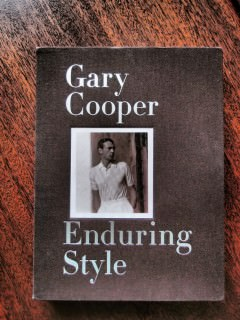 Gary Cooper Book Cover Enduring Style