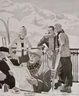 Merry Christmas - Herrenjournal 1933