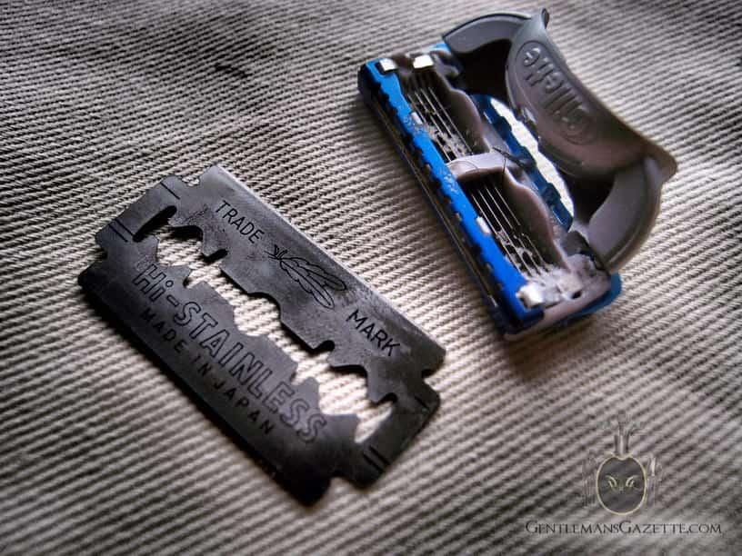 Razor Blade vs. Cartridge