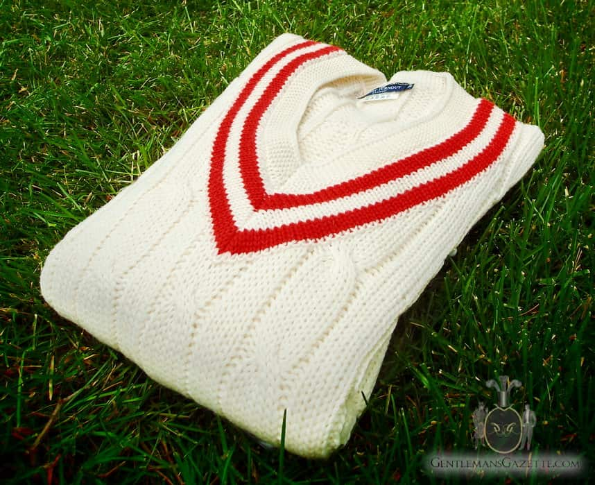 Knitting Pattern For Cricket Sweater : Smart Turnout London Review - Cricket Sweater And Canvas Bag   Gentleman...