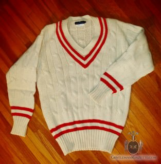 Smart Turnout Cricket Sweater Made in England