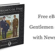 Gentleman of Style eBook with Newsletter
