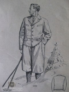 Hiking Knickerbocker Suit 1928