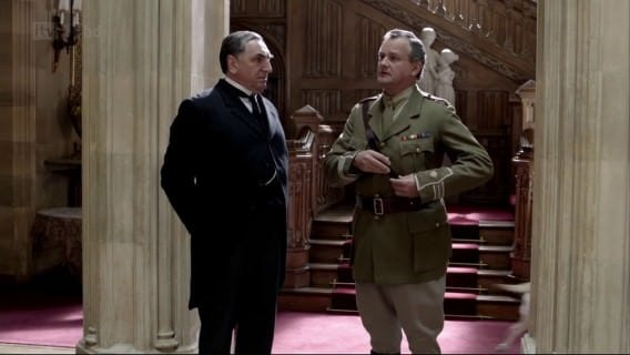 Lord Grantham in Uniform