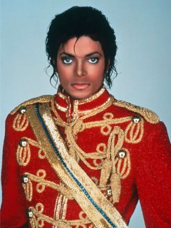 Michael Jackson in Gieves & Hawkes