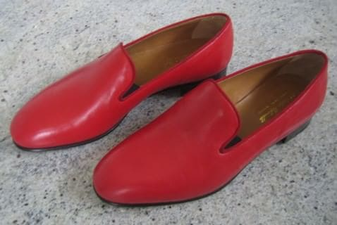 Pope Benedict's shoes in ruby red