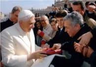Stefanelli and Pope Benedict
