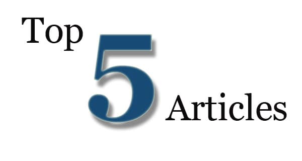Top 5 Articles