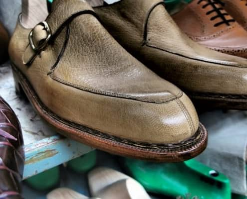 Monk Shoe With Hand Sewn Welt