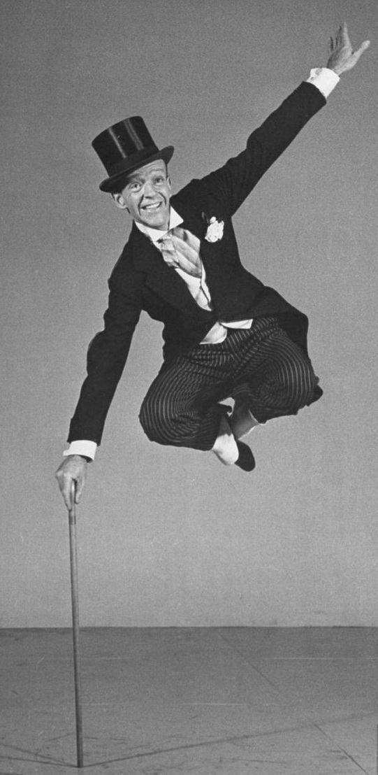 Fred Astaire Dancing in Morning Coat