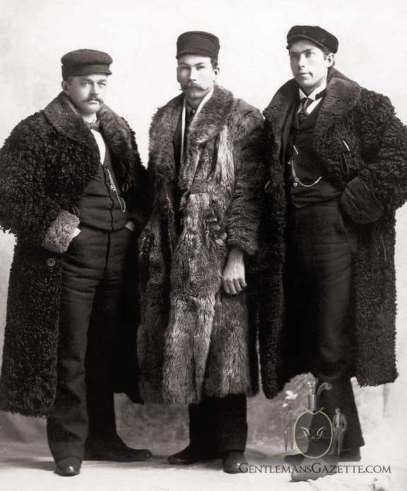 Fur Coats For Men   Gentleman's Gazette