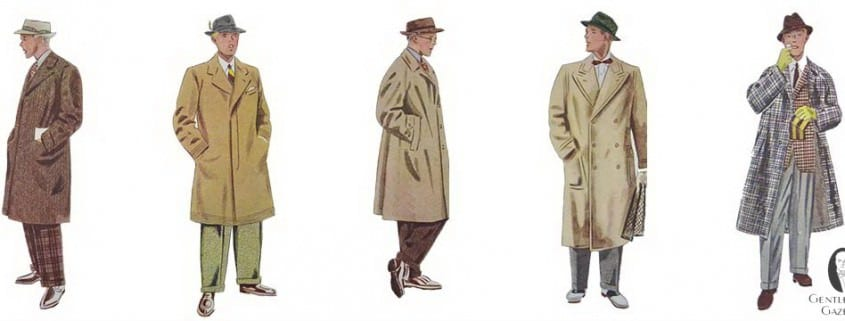 Greatcoat Overcoat Topcoat Terminology Explained