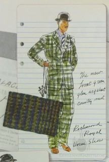 Lovat Green Glen Urquhart Suit