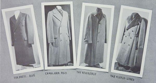Overcoat, Topcoat or Greatcoat