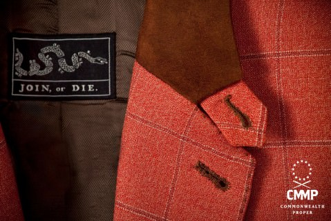 Velvet Collar & Hand Sewn Buttonholes